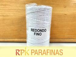 Rolo Pavio Redondo FINO 100% Algodão (185m)