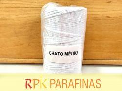 Rolo Pavio Achatado MÉDIO 100% Algodão (168m)