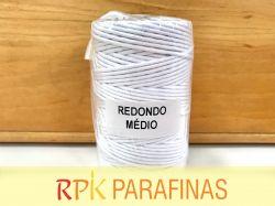 Rolo Pavio Redondo Médio 100% Algodão (118m)