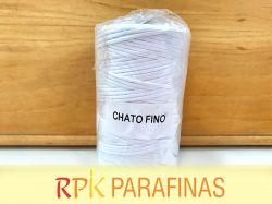 Rolo Pavio Achatado FINO 100% Algodão (197m)