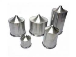 Forma Alumínio Cilíndrica 08x15 Com Bico