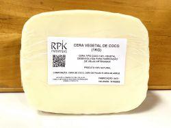 Cera de Coco 100% Vegetal (NÃO CONTÉM PARAFINA) (KG)