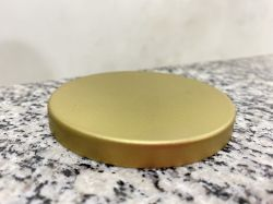 Tampa de Alumínio Dourada Pote Patê (Unidade)