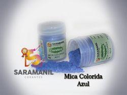 Mica Colorida AZUL