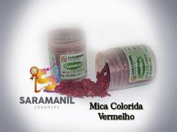 Mica Colorida VERMELHA