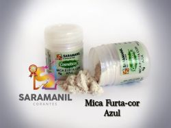 Mica Furta-Cor AZUL