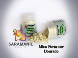 Mica Furta-Cor DOURADA